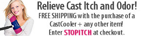 Free Shipping With The Purchase of CastCooler + any other item.