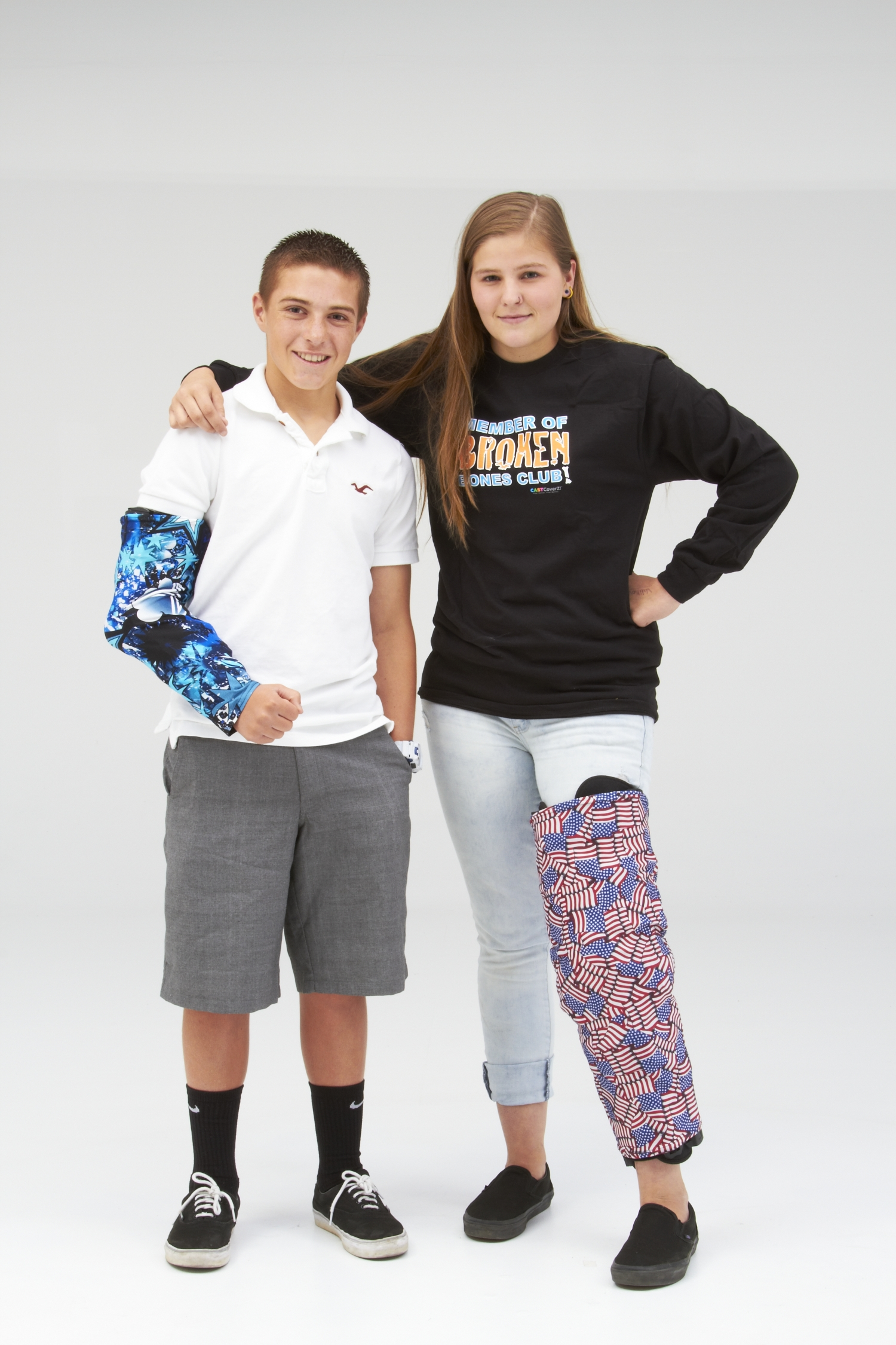 Change Up the Look of Your Orthopedic Brace - CastCoverz!